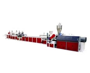磐安PVC高速挤出型材生产线